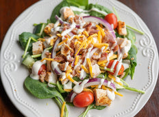 Chicken, Bacon Ranch Salad
