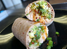 Glazed Orange Chicken Wrap
