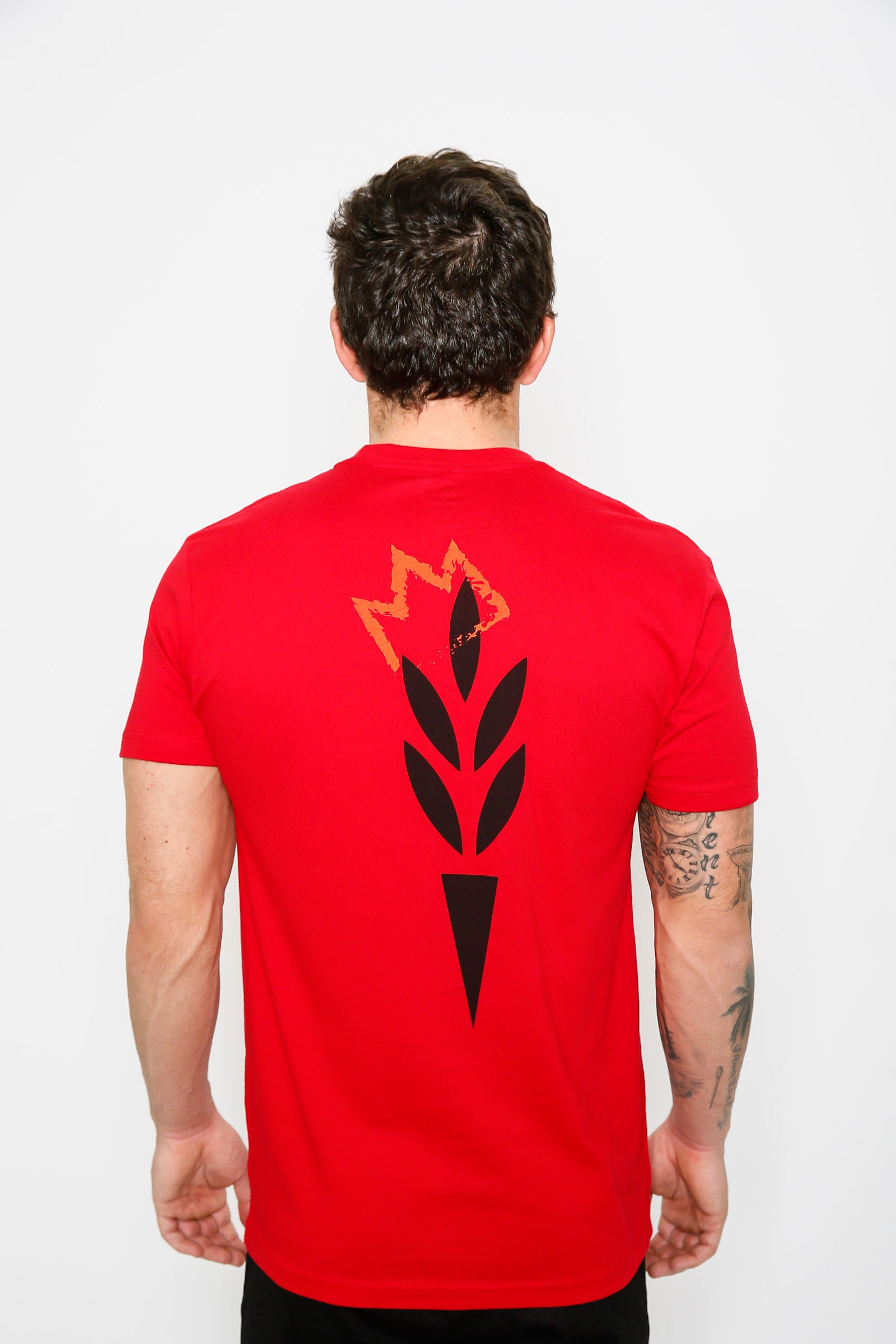 Red Harvest Crowned Tee