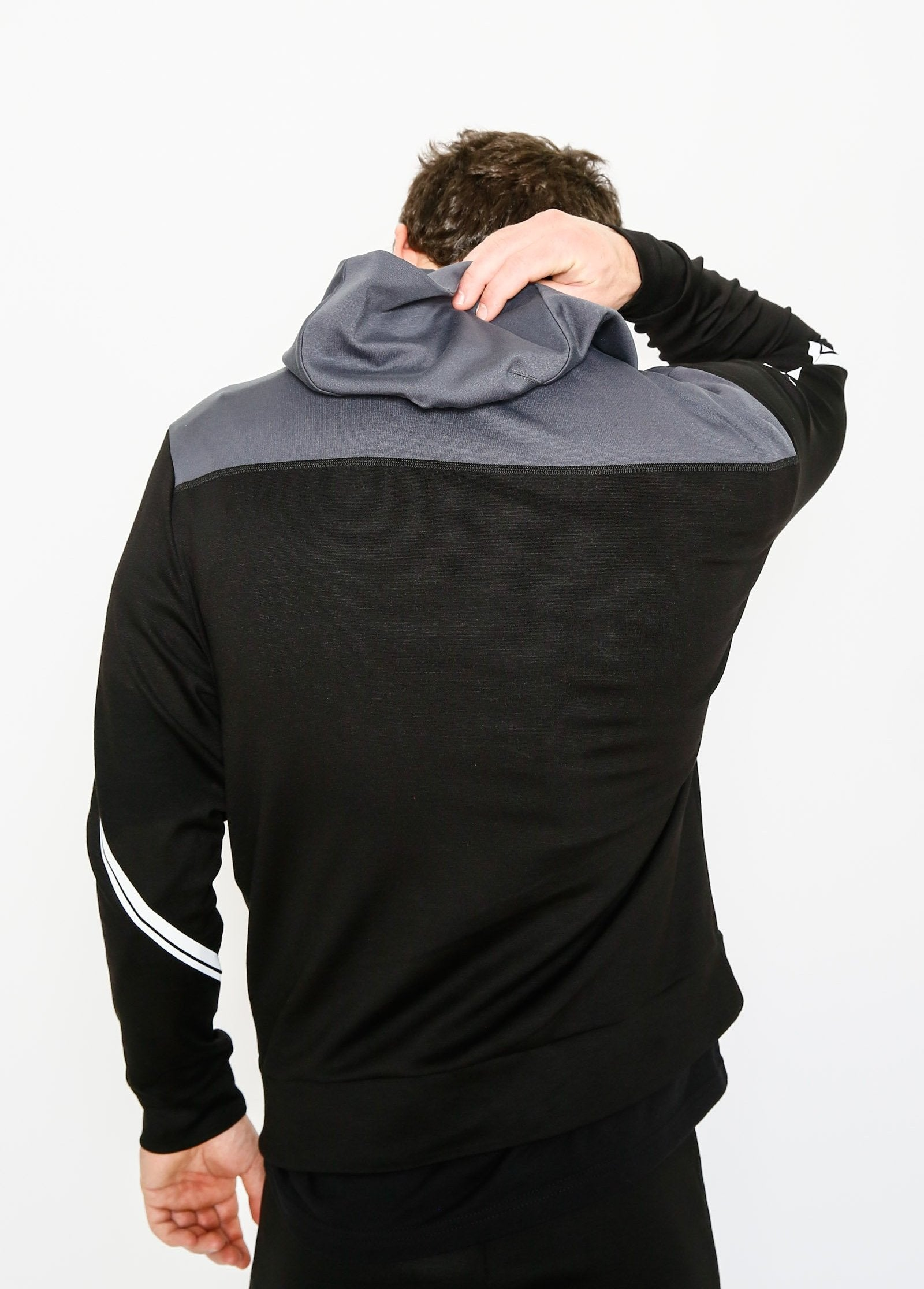 Charcoal Two-Toned Hoodie