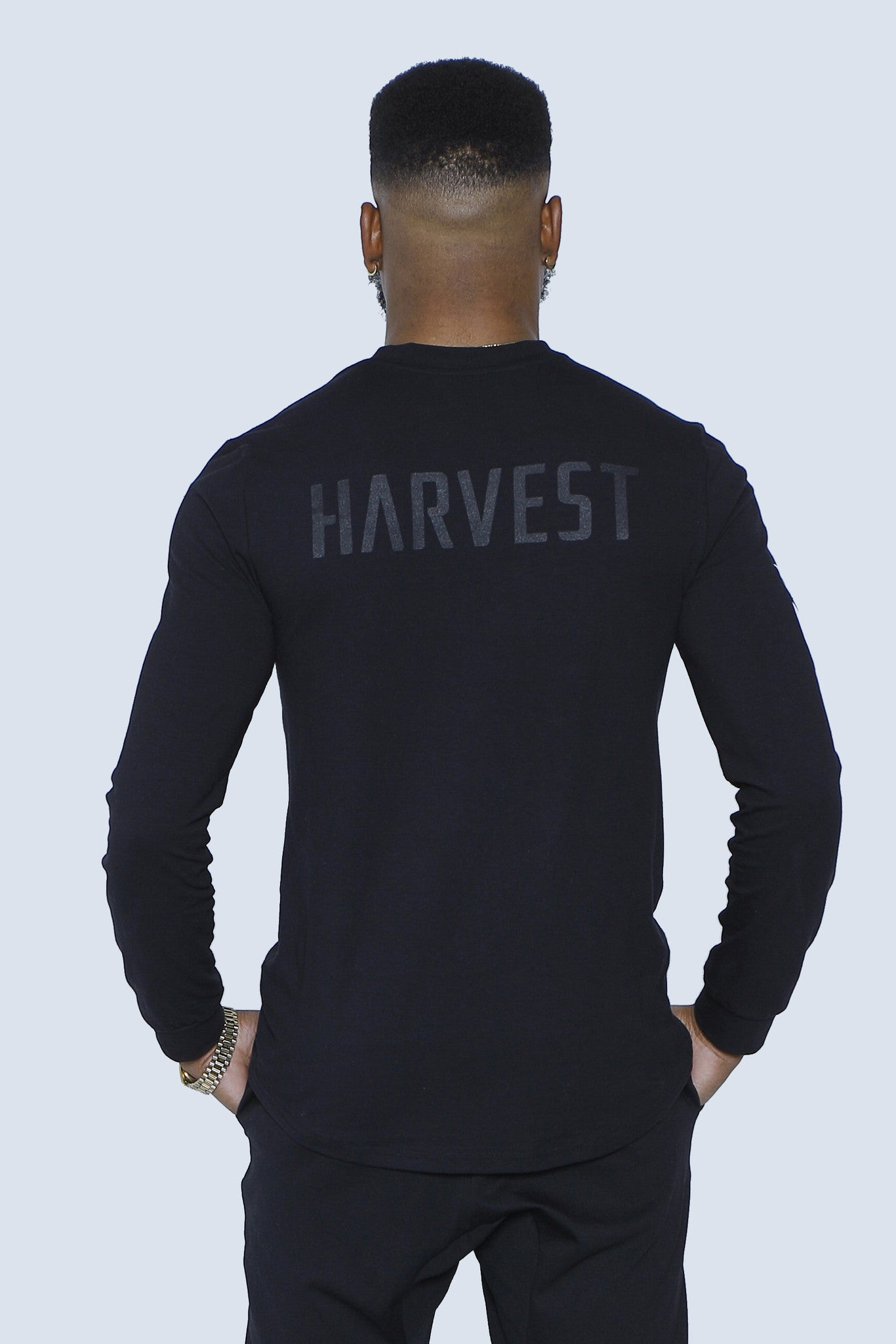 """The Harvest"" Leaf Torch Long Sleeve Back"