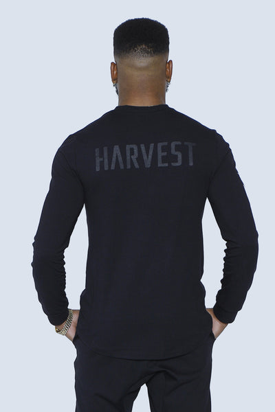 """The Harvest"" Leaf Torch Long Sleeve Front"