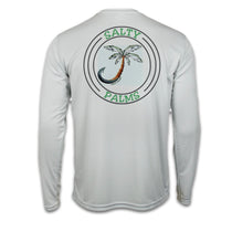 Salty Palms SPF Dri Fit Long Sleeve Shirt - Kingfish