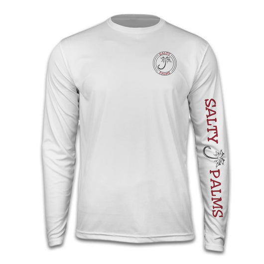 Salty Palms SPF Dri Fit Long Sleeve Redfish