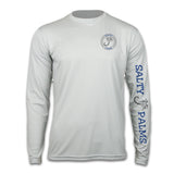 Salty Palms SPF Shirt Long Sleeve Wahoo