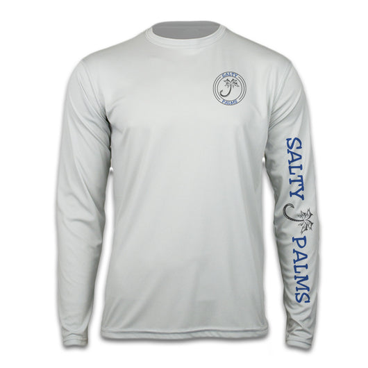 Salty Palms SPF Dri Fit Shirt Long Sleeve Wahoo