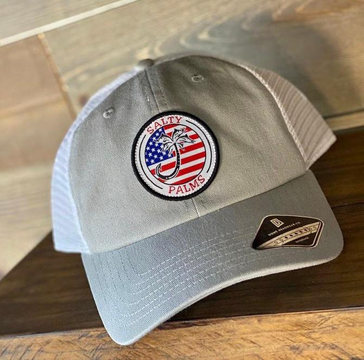 Salty Palms Proud Angler Trucker Hat