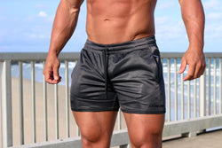 ENVY (Gun Metal) Shorts - Be Activewearman