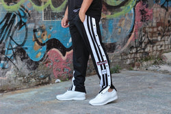 Retro (Mens) Track Pants - Be Activewearman