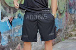 HAMMA (Black/Black) Shorts - Be Activewearman