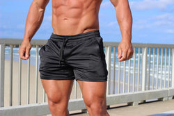 ENVY (Black/black) Shorts - Be Activewearman