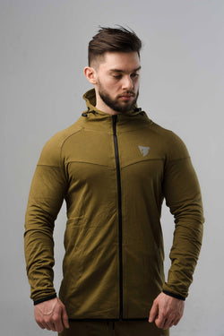 Sparta Fit Jacket Hunter Green - Be Activewearman