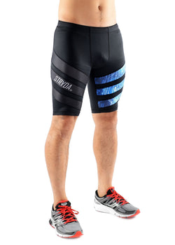 Electric Blue Run Shorts - Be Activewearman