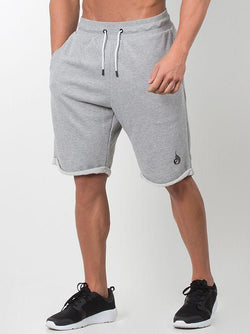 Cali Track Shorts Men - Grey - Be Activewearman