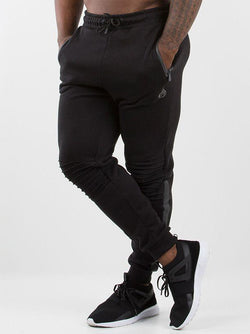 Carbon Track Pants Men - Black - Be Activewearman