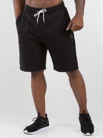 Carbon Track Shorts Men - Black - Be Activewearman