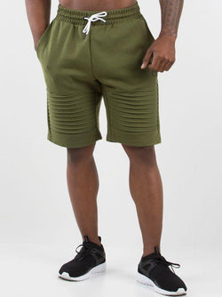 Carbon Track Shorts Men - Khaki
