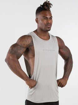 Outlaw Tank - Grey - Be Activewearman