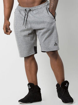 Power Track Short  Black/Grey - Be Activewearman