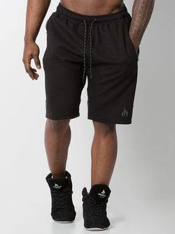 Power Track Short  Black/Charcoal - Be Activewearman