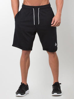Cali Track Shorts Men - Black - Be Activewearman
