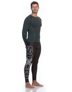 Mens PRO Compression Bike Tights - Be Activewearman