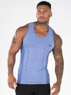 Seamless Tank - Blue - Be Activewearman
