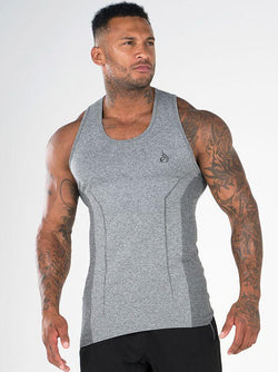 Seamless Tank - Grey - Be Activewearman