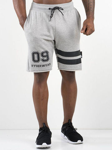 Varsity Track Shorts - Grey - Be Activewearman