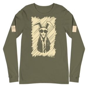 The Proper Bunny Long Sleeve Graphic Tee