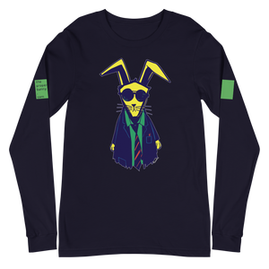 The Proper Bunny In Color Long Sleeve Tee