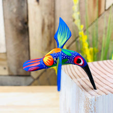 Mini Hummingbird Alebrije Handcarve Wood Decoration Figure