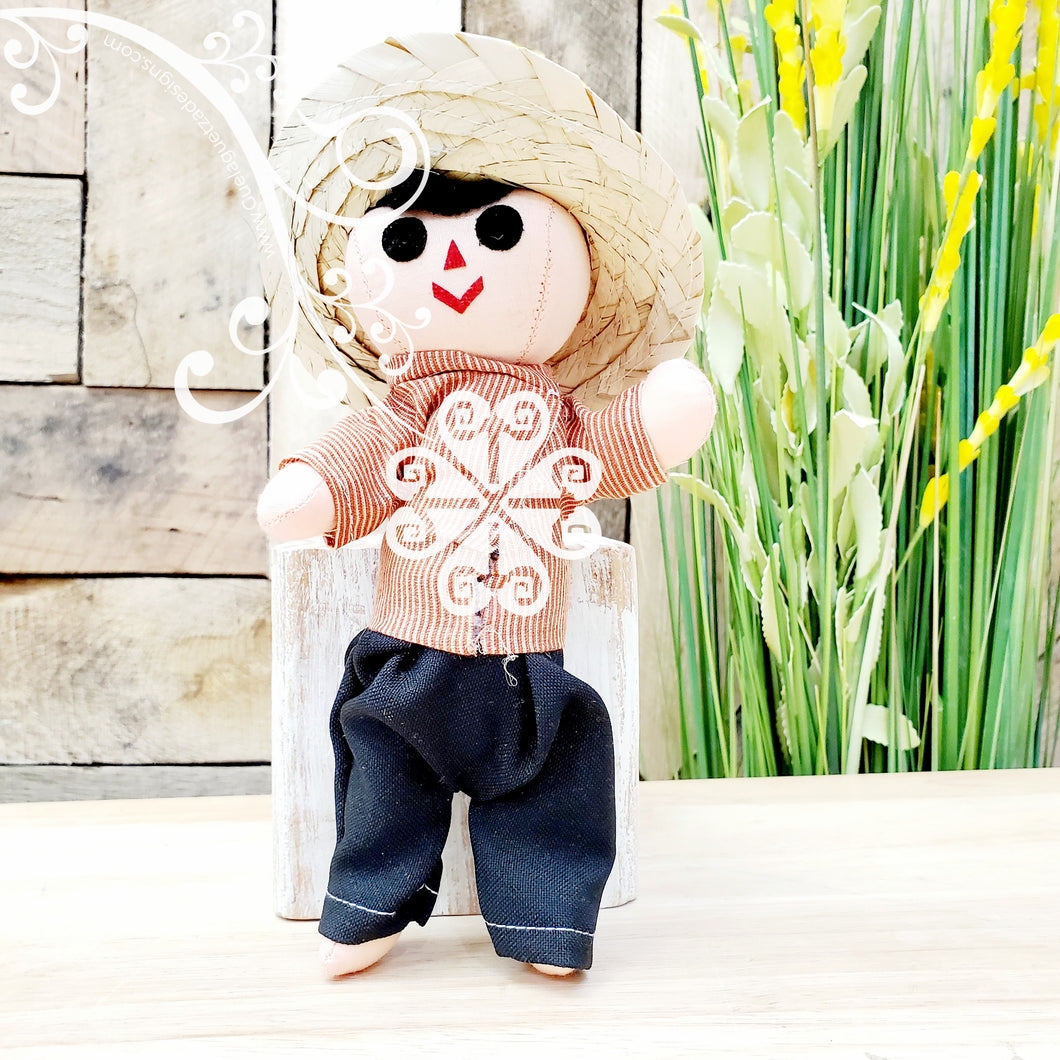 Mini Mexican Otomi Male Doll