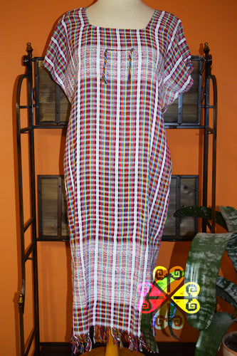 Vestido Telar Bata/ Bata  Loom Dress