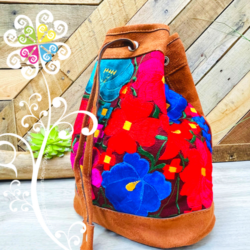 Chiapas Embroider Backpack