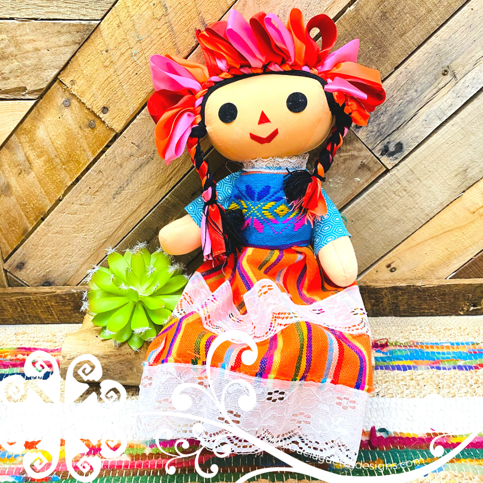 Extra Large Mexican Otomi Doll