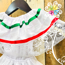 Bandera Tricolor Mexican Campesino Children Dress