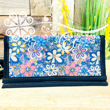 Flower Mosaic Artisan Wallet and Crossover
