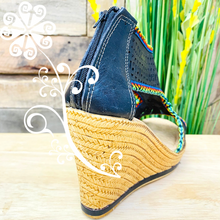 Black Spring Wedges Women Shoes