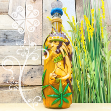 Warrior Glass Bottle Container