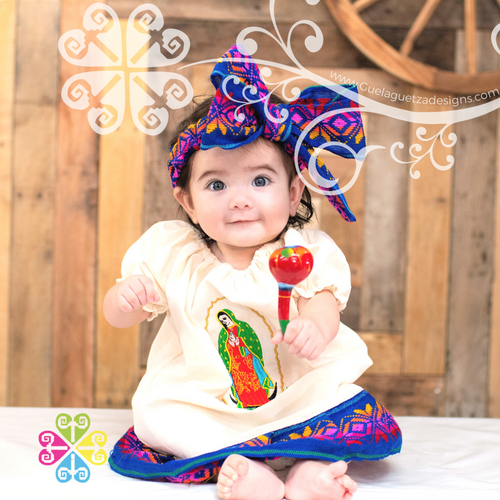 Guadalupe Children Dress with Headband