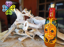 Botella Decorativa Zapoteca/Zapoteca Decorative Bottle m,.;/""