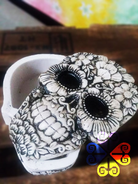 Sugar Skull Jewelry Box