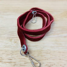 Facemask String Holders - Suede
