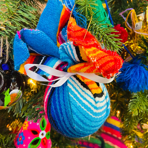 Sarape Ball Ornament Box - 6 pcs