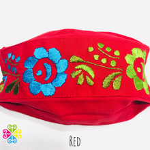 Oaxaca Collection- Aro Embroider Facemask - WOMEN