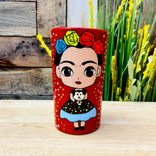 Frida Hand Painted Ceramic Cup
