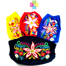 Daisy Embroider Facemasks - CHILDREN