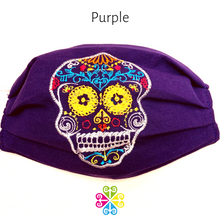 Sugar Skull Embroider Facemask - Calaverita - WOMEN