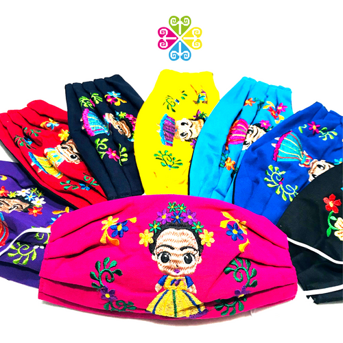 Frida Embroider Facemasks- WOMEN